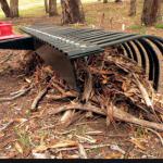 Stick raking
