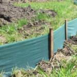 sediment fencing